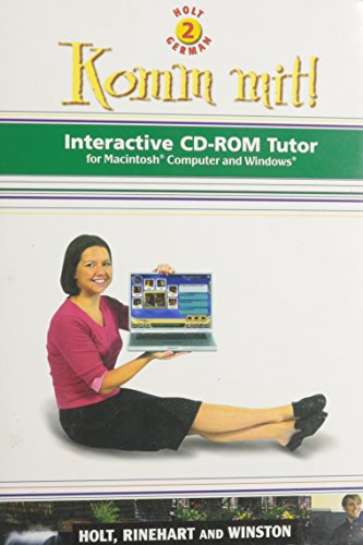 9780030658693: Komm Mit!: Interactive Cd-Rom Tutor for Macintosh Computer and Windows : Level 2 (World Languages Series) (German Edition)