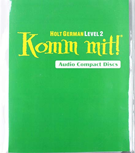 9780030658761: Holt German Level 2, Komm Mit! Audio Compact Discs
