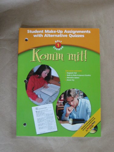 9780030658822: Komm mit!: Student Make-Up Assignments with Alternative Quizzes Level 1