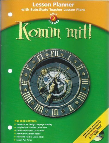 9780030658877: Lesson Planner Komm Mit! LV 2 2003