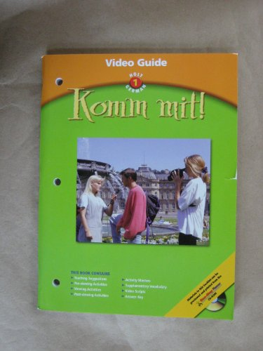 9780030658891: Komm Mit Level 1 Video Guide