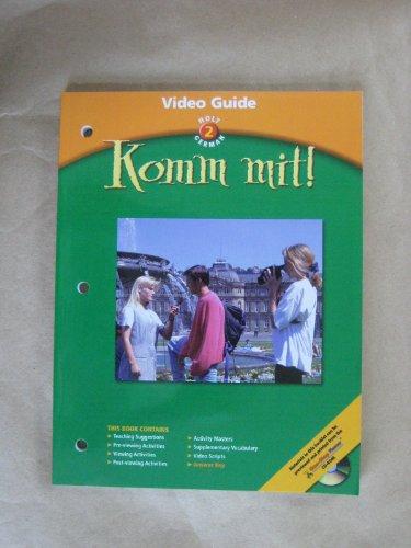 9780030658914: Komm mit!: Video Guide Level 2