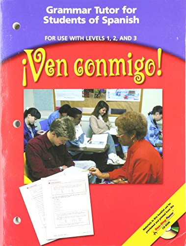 9780030658938: Ven conmigo! Grammer Tutor for Students of Spanish (For use with Levels 1, 2 and 3)