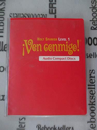 9780030658945: ¡Ven conmigo!: Audio CD Program Level 1