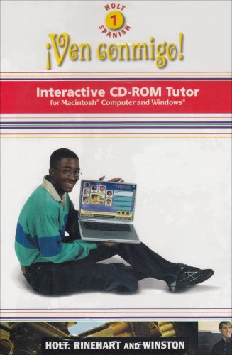 9780030659065: Holt ?Ven conmigo!: Interactive CD-ROM Program Level 1