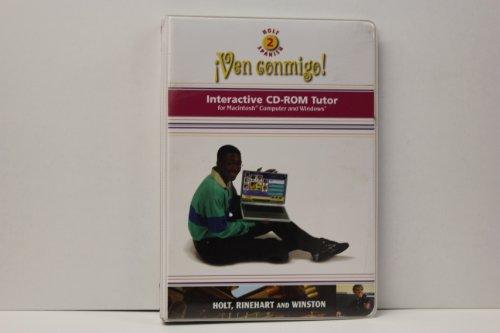 9780030659195: Ven Conmigo! Interactive CD-ROM Tutor: Holt, Level 2: Spanish