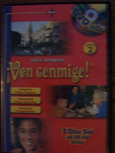 9780030659218: Holt ?Ven conmigo!: DVD Tutor Level 2