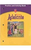 9780030659423: Adelante: Practice and Activity Book