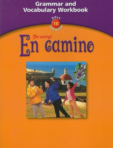 9780030659584: En Camino: Grammar and Vocabulary Workbook