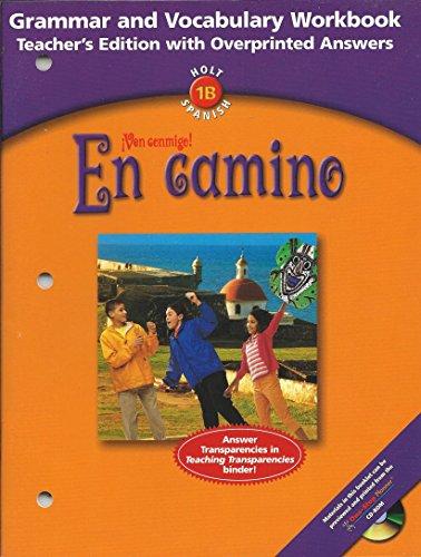 9780030659591: En camino - Ven conmigo! - Holt 1B Spanish - Grammar and Vocabulary Workbook