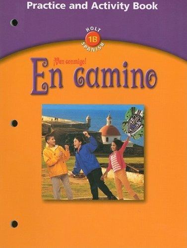 9780030659614: En Camino: Practice and Activity Book