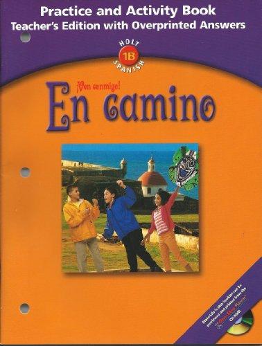 9780030659621: Prac & ACT Bk Te En Camino 2003 (Spanish Edition)