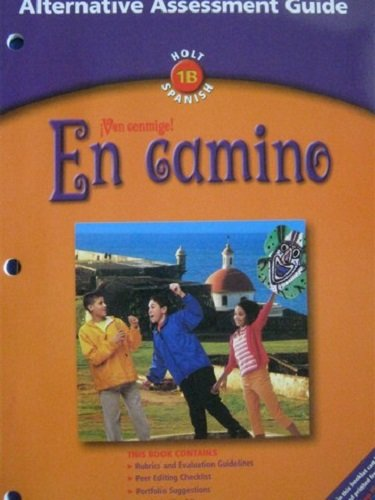 9780030659645: Alt Assmnt GD En Camino 2003 (Spanish Edition)