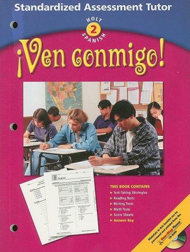 9780030659997: Holt Spanish 2: Ven Conmigo! Standardized Assessment Tutor (Holt Spanish: Level 2)