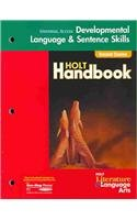 9780030660238: Holt Literature and Language Arts California: Universal Access Language Skills Grade 8