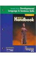 9780030660245: Holt Literature and Language Arts California: Universal Access Language Skills Grade 9