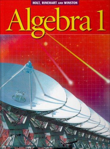 9780030660511: Holt Algebra 1: Student Edition © 2003 2003