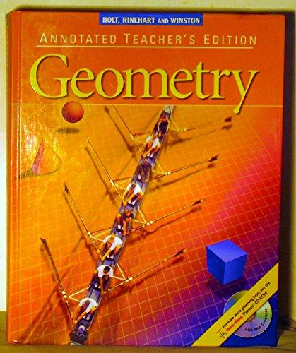 9780030660528: Holt, Rinehart & Winston: Geometry, Annotated Teacher's Edition