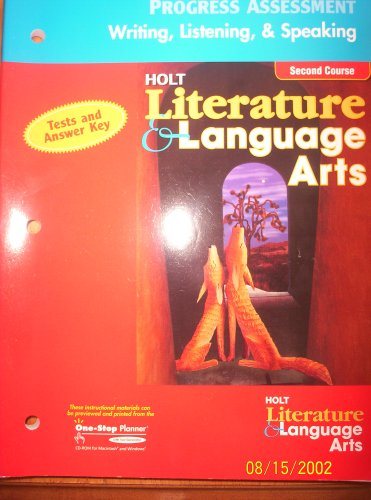 Holt Literature and Language Arts, Grade 8: Holt, Rinehart and