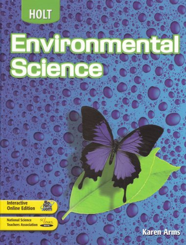 9780030661747: Holt Environmental Science, Student Edition