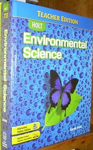 9780030661761: Environmental Science Teacher Edition