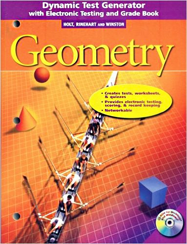9780030663789: Holt Geometry: Dynamic Test Generator with Electronic Testing and Grade Book