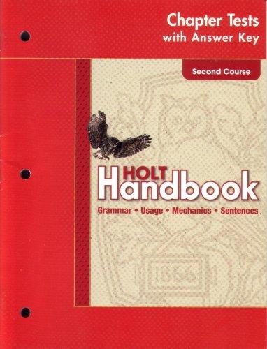 9780030664045: Ch Tests W/Ansky Hlt Hndbk G 08 2003