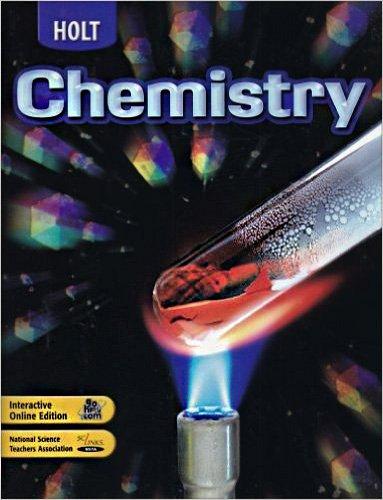 Chapter Resources Pkg Holt Chem 2004: Winston, Holt Rinehart &