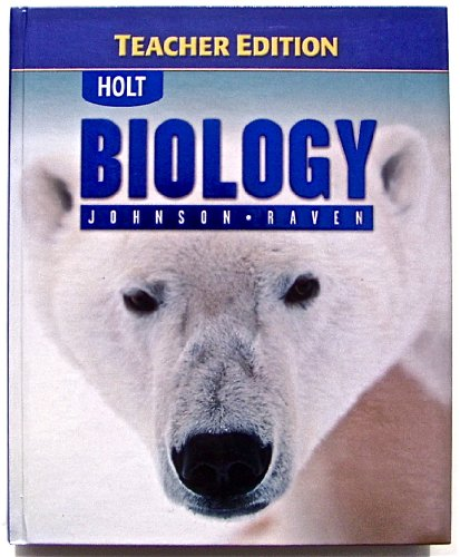 9780030664748: Holt Biology, Teacher Edition