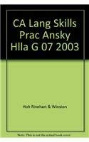 9780030664977: Answer Key; Language & Sentence Skills Practice (Holt Handbook; First Course) (Holt Literature & Language Arts)