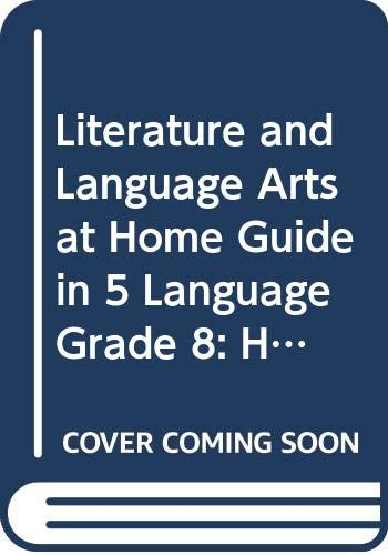 9780030665189: Holt Literature and Language Arts: At Home: Guide In 5 Language Grade 8