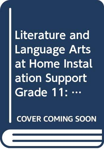 9780030665226: Holt Literature and Language Arts: At Home: Instalation Support (Spanish) Grade 11 (Holt Lit & Lang Arts 2003)