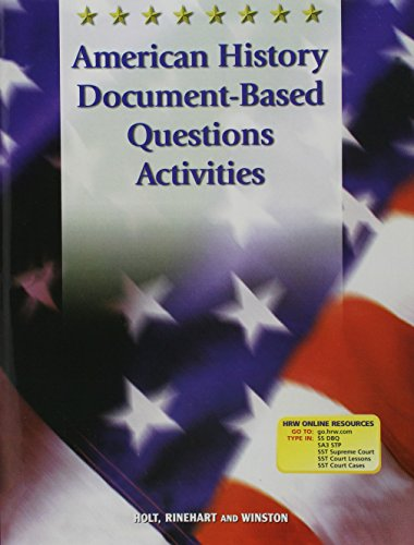 9780030665349: Holt Call to Freedom: American History Document-Based Activities