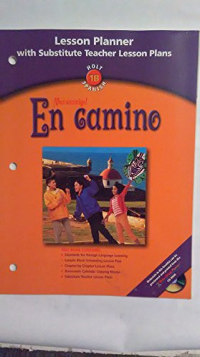 9780030665424: Lesson Planner En Camino 2003 (Spanish Edition)