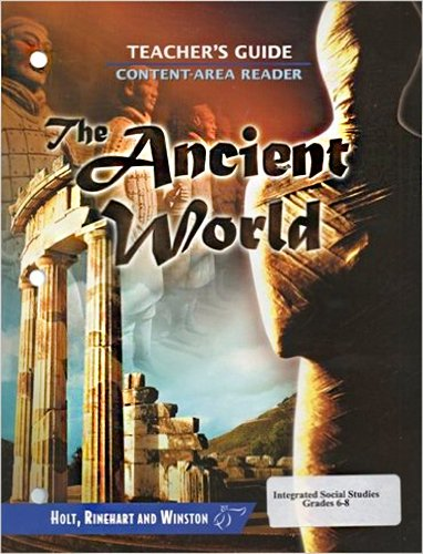 9780030665431: World History: Content Reader Teacher's Guide Ancient World