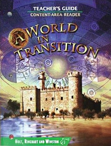9780030665448: TM/A World in Transition G 7 2003