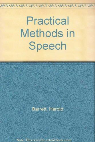 9780030666209: Practical Methods in Speech