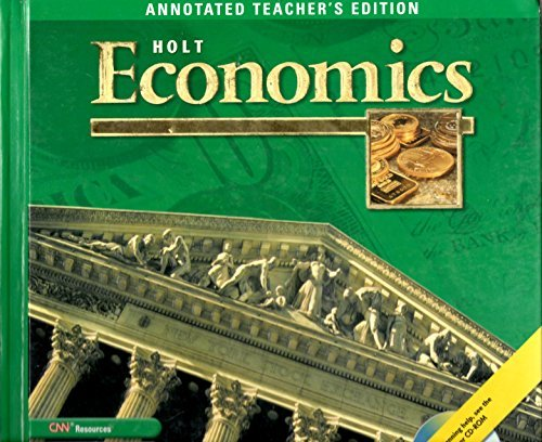 9780030666544: Holt Economics, Annotated Teacher's Edition