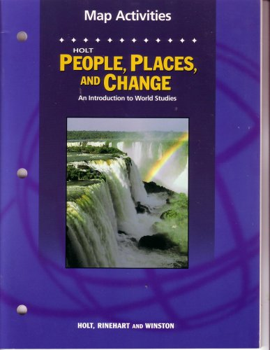 9780030666988: Map Activities (Holt People Places & Change: An Introduction to World Studies)