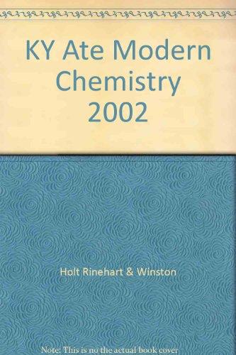 9780030667879: KY Ate Modern Chemistry 2002