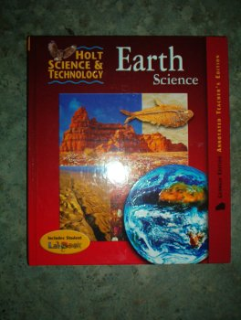 9780030668944: Holt Science & Technology Earth Science Georgia Edition Annoted Teacher's Edition