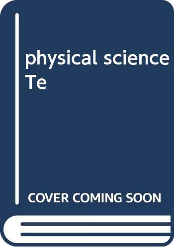 9780030668975: physical science Te