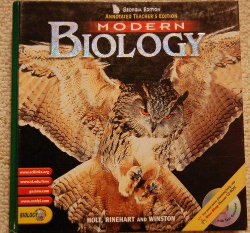 9780030669026: Ga Ate Modern Biology 2002