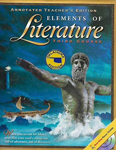 9780030669422: Elements of Literature