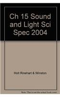9780030670480: Chapter 15 Resource File: Sound and Light (Science Spectrum: Physical Science)