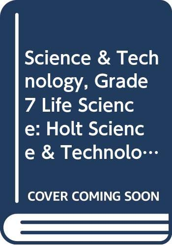 9780030671944: Holt Science & Technology Texas: Student Edition Cd-Rom Grade 7 Life Science 2002 (Tx Hs&t 2002)
