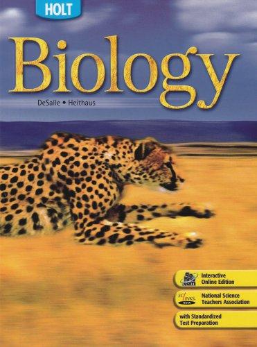 9780030672149: Holt Biology: Student Edition 2008