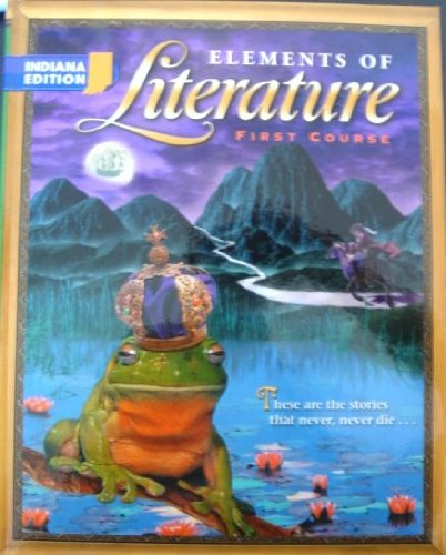 9780030672422: Holt Elements of Literature Indiana: Student Edition EOLIT 2003 Grade 7 2003
