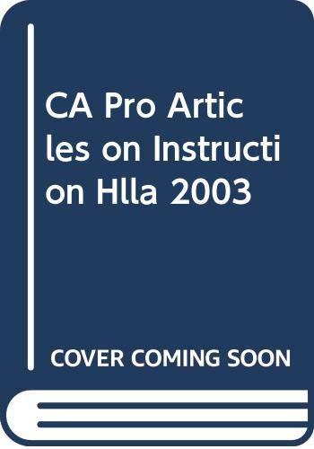 Holt Literature and Language Arts : Professional: Holt, Rinehart and