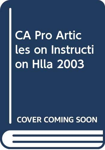 9780030672767: Implementing the California Reading / Language Arts Standards: Professional Articles on Instruction, Research, and Classroom Practice (Holt Literature & Language Arts)